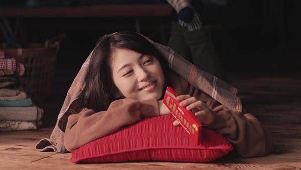 ロッテ|ガーナ「赤チョコ育ちの娘です」篇