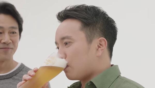 キリンビール|一番搾りTVCM「濱田岳 飲んでいない人」篇